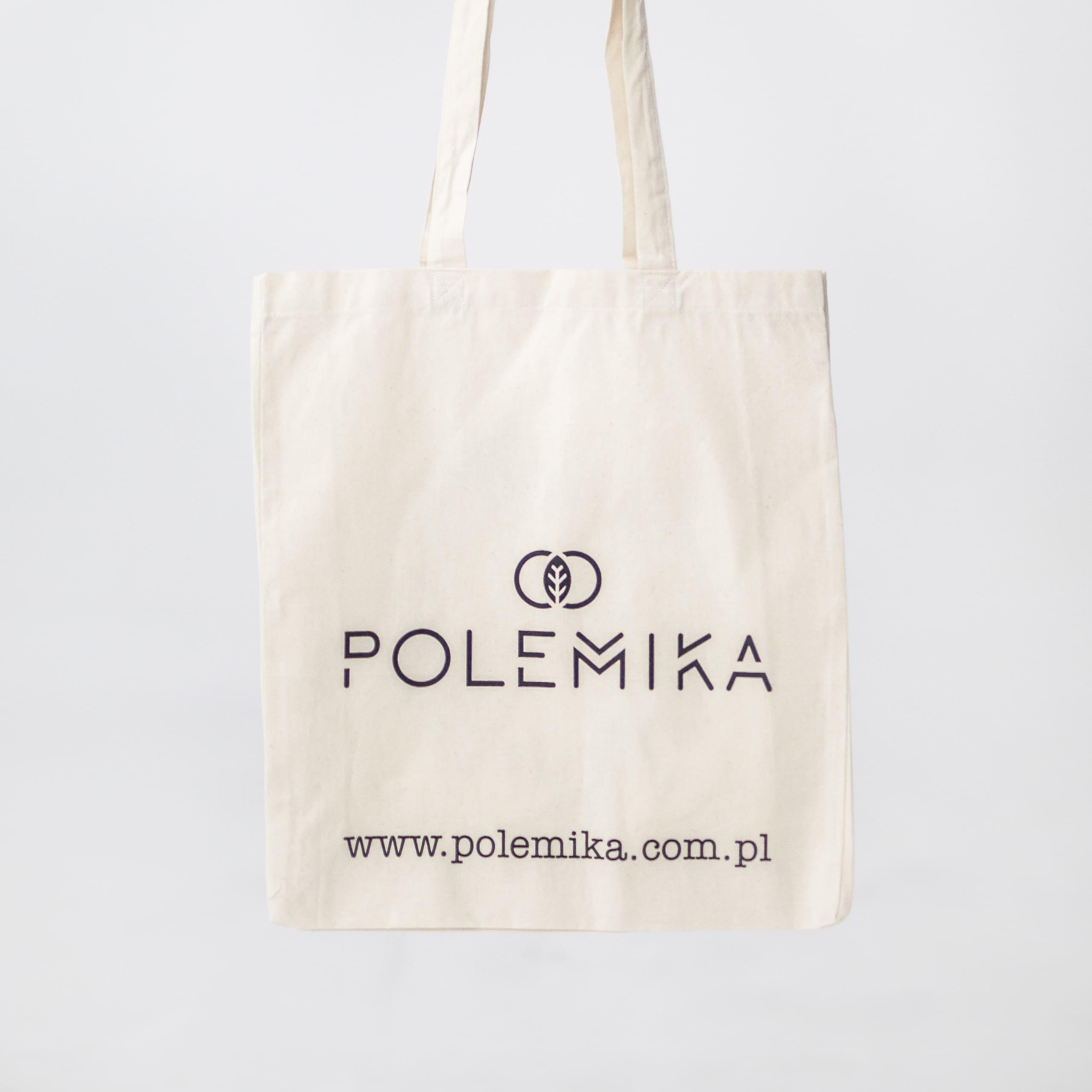 Produkt - bawełniana eko torba na zakupy Polemika