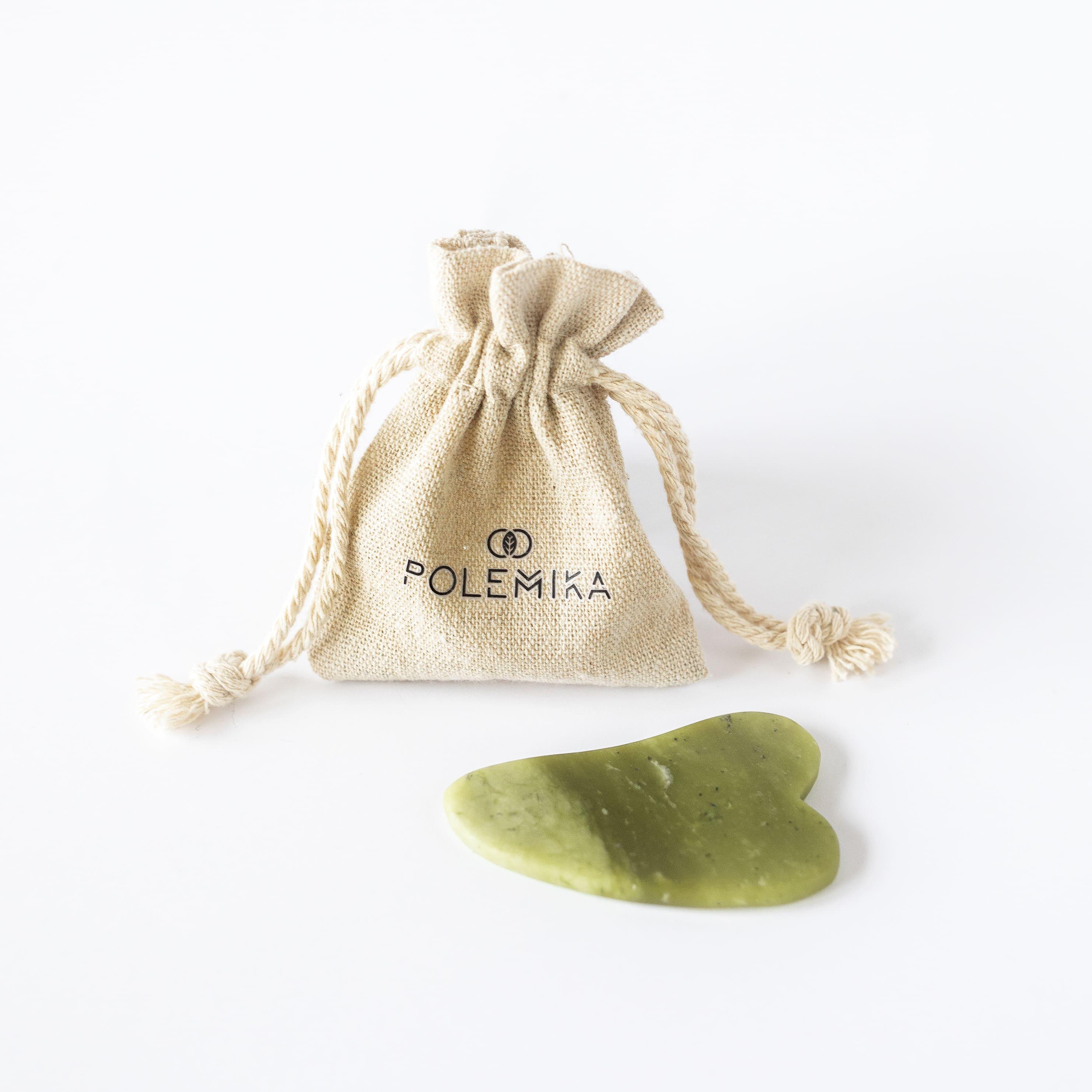 Płytka jadeitowa do masażu gua sha