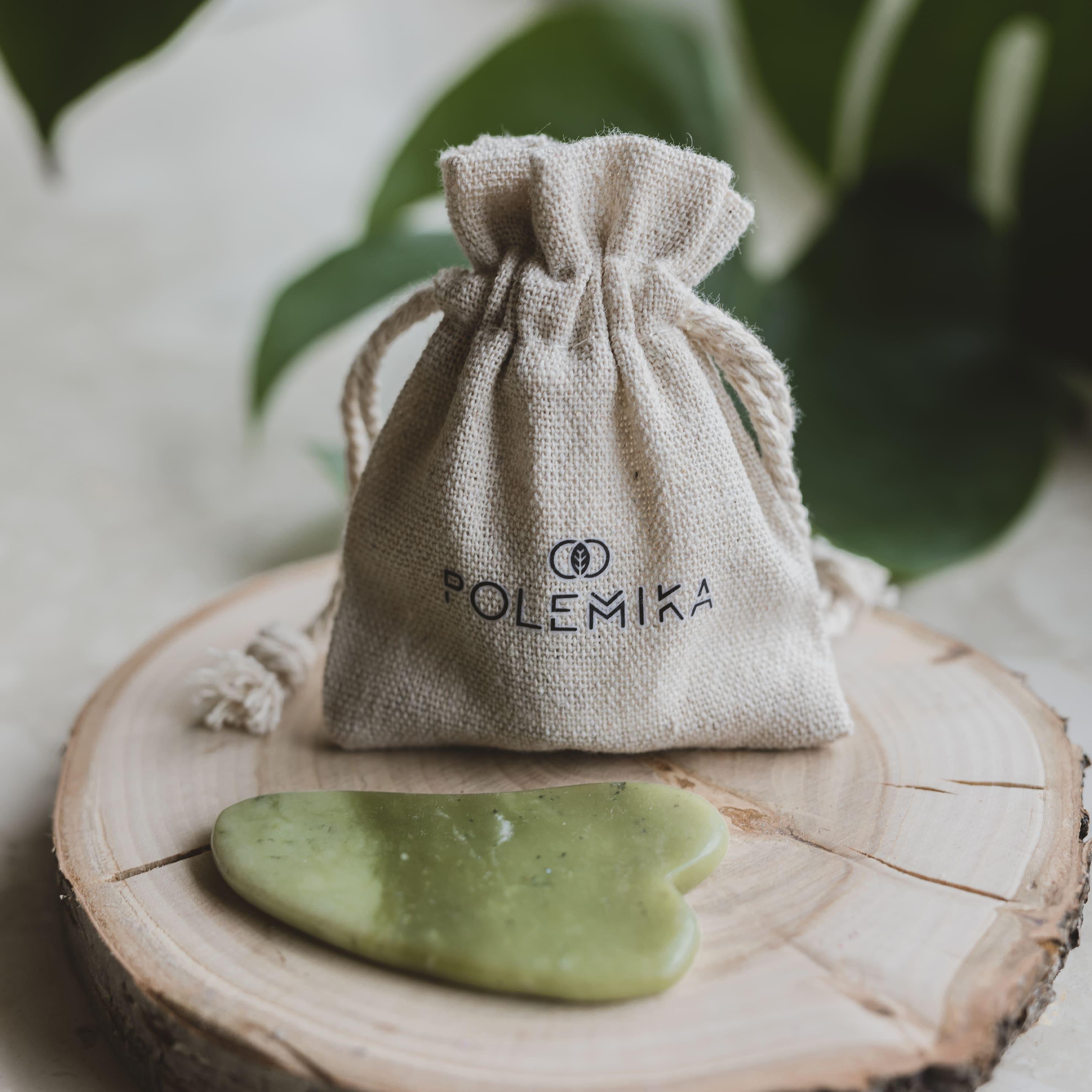 Płytka jadeitowa do masażu