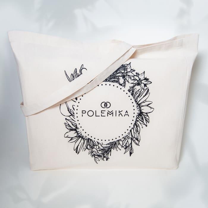 Bawełniana ekologiczna torba na zakupy Polemika