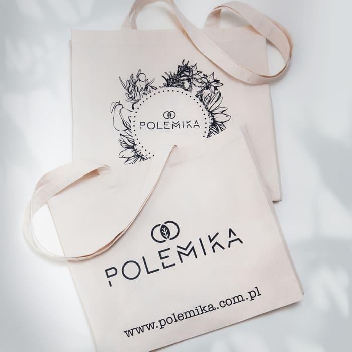 Bawełniana eko torby na zakupy Polemika